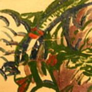 Marie - Tile Art Print