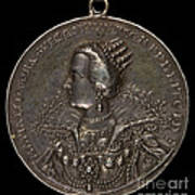 Marie Eleonora Of Brandenburg, 1599-1655, Queen Of Sweden 1620 [reverse] Art Print