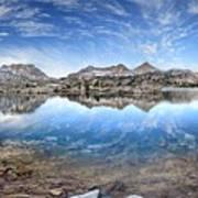 Marie Lake - John Muir Trail Art Print