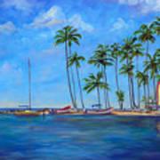 Marigot Bay St. Lucia Art Print