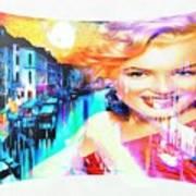Marilyn In Italy Art Print