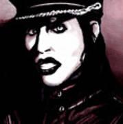 Marilyn Manson Portrait Art Print
