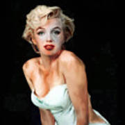 Marilyn Monroe Faded Art Print
