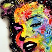 Marilyn Monroe II Print by Dean Russo