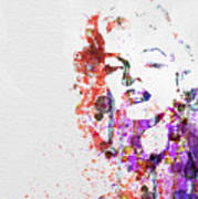 Marilyn Monroe Art Print by Naxart Studio