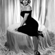 Marilyn Monroe Publicity Shot The Asphalt Jungle Art Print