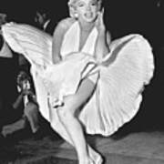Marilyn Monroe - Seven Year Itch Art Print