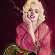Marilyn Monroe Art Print by Sydne Archambault