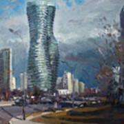 Marilyn Monroe Towers Mississauga Art Print