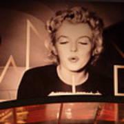Marilyn Over The Red Carpet Art Print