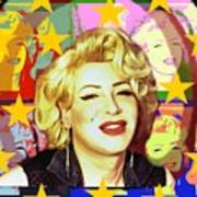 Marilyn Superstar Pop Art Print