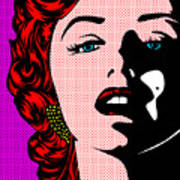 Marilyn02-2 Art Print