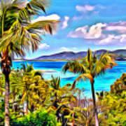 Marina Cay Art Print