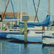 Marina No 4 Art Print