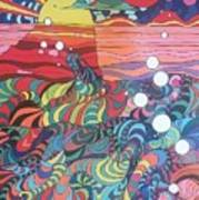 Marine Landscape Art Print