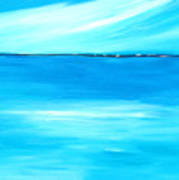 Marine Mirror Art Print