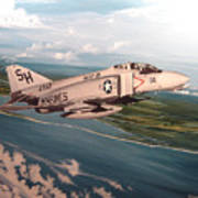 Marine Phantom Art Print