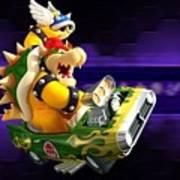 Mario Kart Wii Art Print