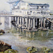 Maritim Club Castro Urdiales Art Print