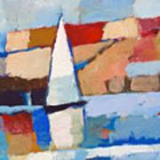 Maritime Art Print by Lutz Baar