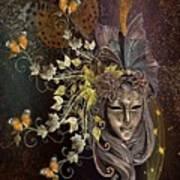 Mask Of The Wind Art Print