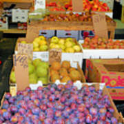 Market At Bensonhurst Brooklyn Ny 10 Art Print