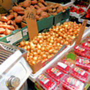 Market At Bensonhurst Brooklyn Ny 4 Art Print