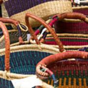 Market Baskets Art Print