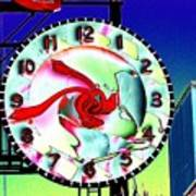 Market Clock 2 Art Print