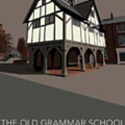 Market Harborough Grammar School Art Print