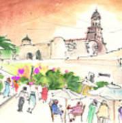Market In Teguise In Lanzarote 02 Art Print