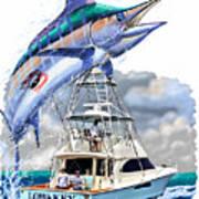 Marlin Commission  Art Print