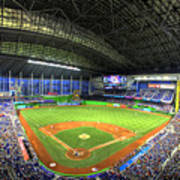 Marlins Park Print by Shawn Everhart