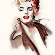 Marilyn Manroe Art Print