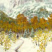 Maroon Bells-snowmass Wilderness Trek Art Print