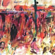 Marrakech Market Art Print