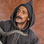 Marrakech Snake Charmer Art Print