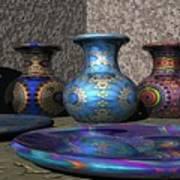Marrakesh Open Air Market Art Print by Lyle Hatch