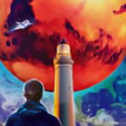 Mars Dreamer Art Print