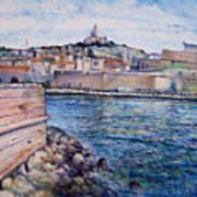 Marseille Pierre Plats Provence France Cm 2004  Art Print