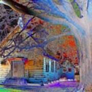 Marsh Berea Mb Church In Color Art Print