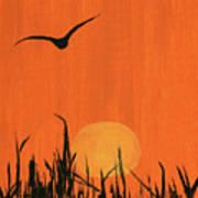 Marsh Home Art Print