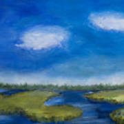 Marsh In The Low Country Art Print