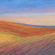 Marshall Sunset Art Print by Lucinda  Hansen