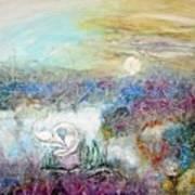 Marshland Ballet Art Print