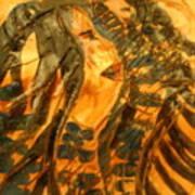 Martha And Babe - Tile Art Print
