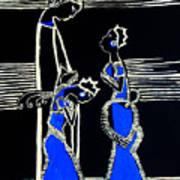Martha And Mary Of Bethany Print by Gloria Ssali