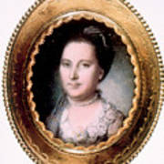 Martha Washington 1731-1802, First Lady Art Print