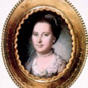 Martha Washington 1731-1802, First Lady Art Print by Everett
