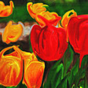 Martha's Garden Art Print
